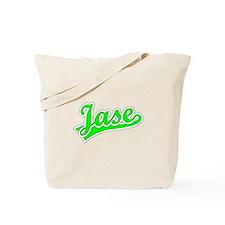 Retro Jase (Green) Tote Bag