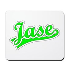 Retro Jase (Green) Mousepad