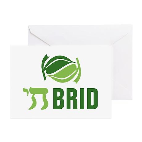 Chai Brid Greeting Cards (Pk of 10)
