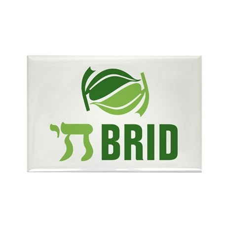Chai Brid Rectangle Magnet