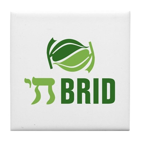 Chai Brid Tile Coaster