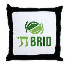 Chai Brid Throw Pillow