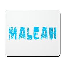 Maleah Faded (Blue) Mousepad