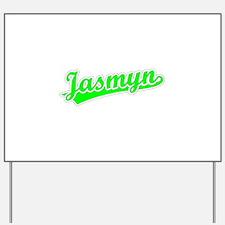 Retro Jasmyn (Green) Yard Sign
