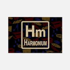 Harmonium Retro Rectangle Magnet