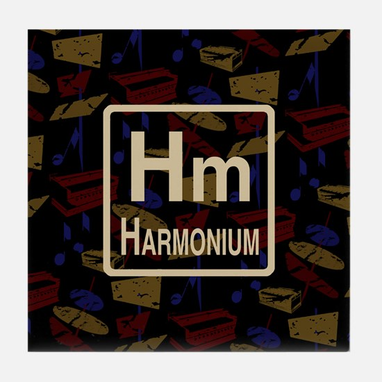 Harmonium Retro Tile Coaster