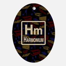 Harmonium Retro Oval Ornament