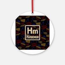 Harmonium Retro Ornament (Round)