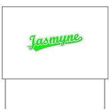 Retro Jasmyne (Green) Yard Sign