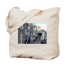 St Ives, Cornwall, Huddled Buildings Tote Bag