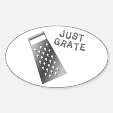 Just Grate Decal