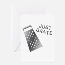 Just Grate Greeting Card