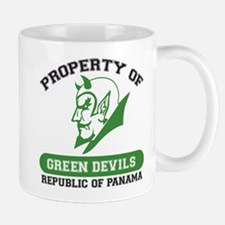 Unique Green Devils Mug