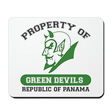 Unique Green Devils Mousepad