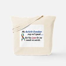 Needs No Words 1 (Grandson) Tote Bag