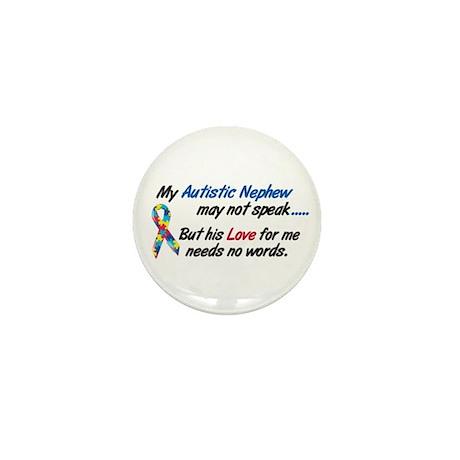 Needs No Words 1 (Nephew) Mini Button