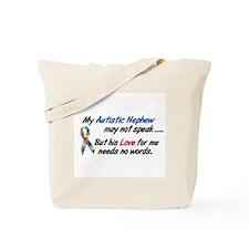 Needs No Words 1 (Nephew) Tote Bag