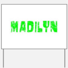 Madilyn Faded (Green) Yard Sign
