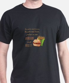 Burgers and Fries T-Shirt