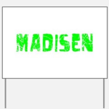 Madisen Faded (Green) Yard Sign