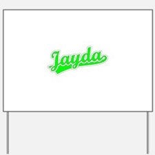 Retro Jayda (Green) Yard Sign