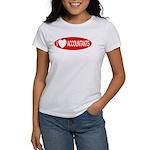 I Love Accountants Women's T-Shirt