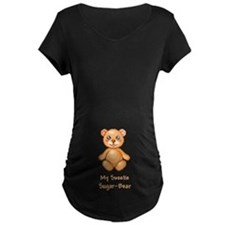 Sugar-Bear Maternity Dark Tummy T-Shirt