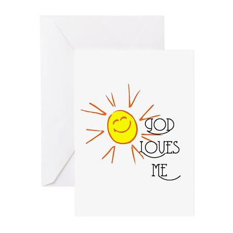 God Loves Me Greeting Cards (Pk of 20)