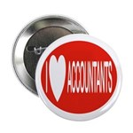 I Love Accountants Button