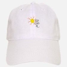 God Loves Me Baseball Baseball Cap