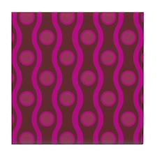 Bombshell Grape Tile Coaster