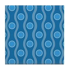Bombshell Blues Tile Coaster