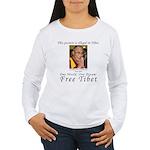 Dalai Lama Women's Long Sleeve T-Shirt