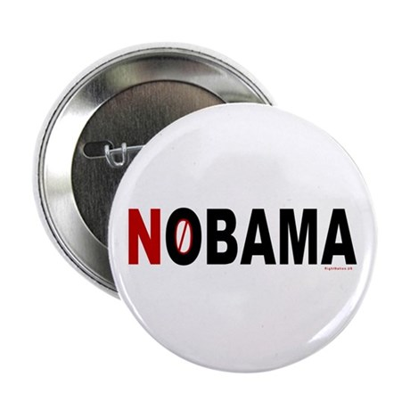 """NOBAMA 2.25"""" Button"""