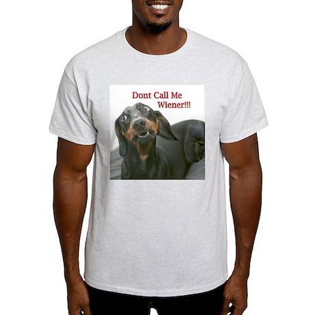 Who U Callin Wiener Light T-Shirt