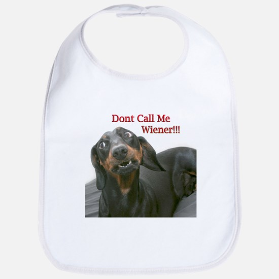 Who U Callin Wiener Bib