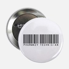 "Pharmacy Technician Barcode 2.25"" Button"