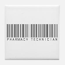 Pharmacy Technician Barcode Tile Coaster