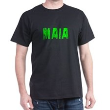 Maia Faded (Green) T-Shirt