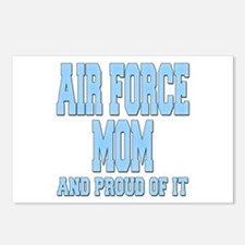 Air Force Mom Postcards (Package of 8)