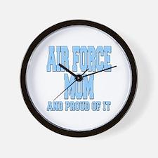 Air Force Mom Wall Clock
