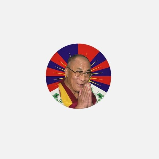 Dalai Lama Mini Button
