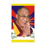 Dalai Lama Rectangle Sticker 10 pk)