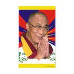 Dalai Lama Rectangle Sticker
