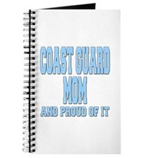 Coast Guard Mom Proud of it Journal