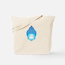 blue buddha Tote Bag