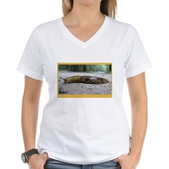 Banana Slug in Forest Shirt