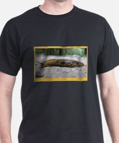 Banana Slug in Forest T-Shirt