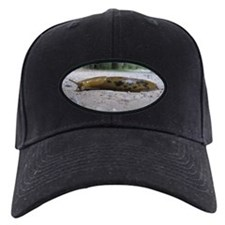 Banana Slug in Forest Baseball Hat