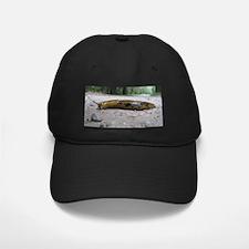 Banana Slug in Forest Baseball Hat